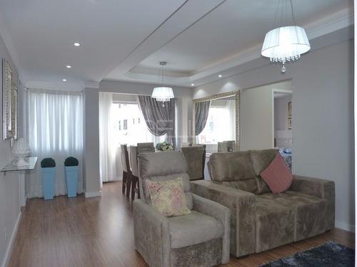 02 dormitórios + dep. de empregada, rua reta ao mar, mobiliado, decorado e equipado - 326_1