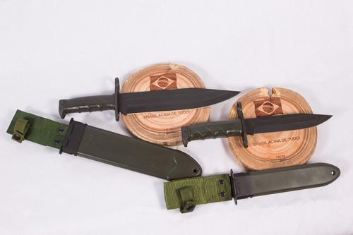 02 ( duas) facas imbel : 01 amz e 01 ia2 e kit manutenção