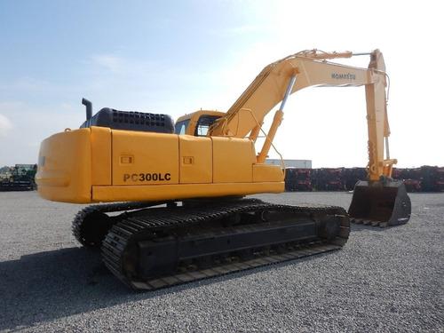 02) excavadora komatsu pc300lc-6le 1999 con detalle