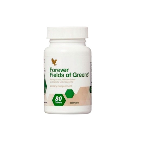 02 fields off greens forever living 80 tabletes
