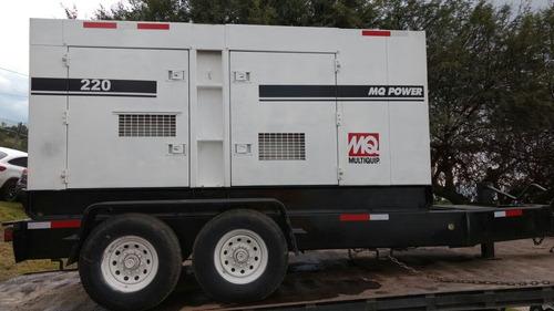 02) generador de electricidad mq power 176 kw 2006