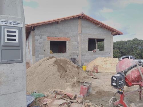 02 linda área de chacara 1000 m2 planos pronto p construir