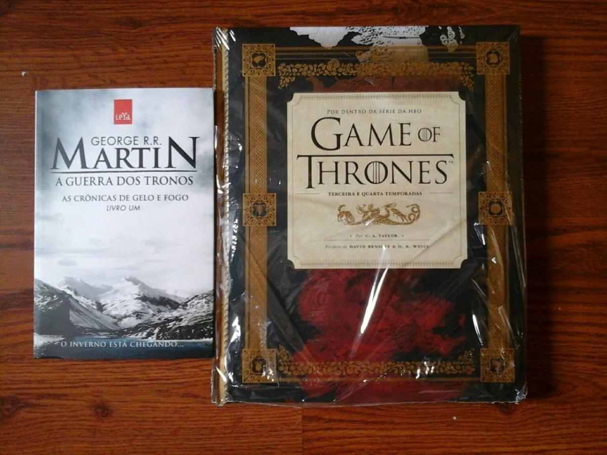 97a339140 02 livros guia hbo game of thrones + a guerra dos tronos. Carregando zoom.