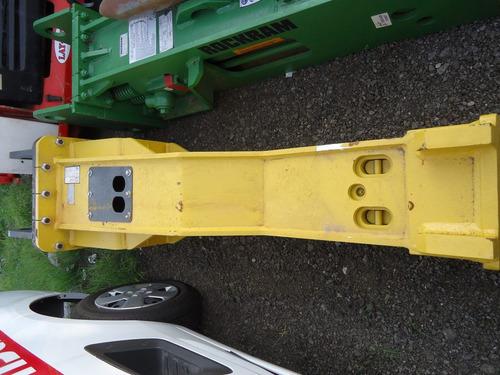 02) martillo hidraulico mustang para excavadora 25 a 42 ton.