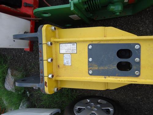 02) martillo hidraulico mustang para excavadora de 25 a 42 t