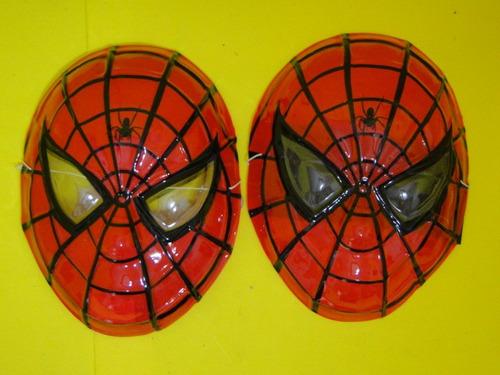 02 mascaras  do homem aranha vingador infantil