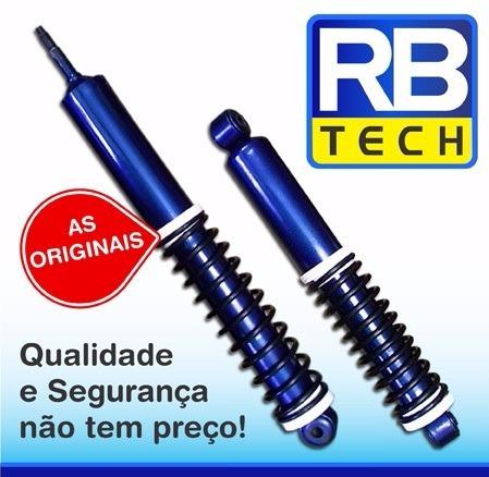 02 pares mola de amortecedor fusca fuscão brasília
