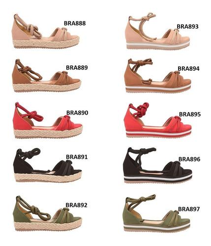 02 pares sandália sapato feminina chiquiteira atacado revenda chiqui/9823