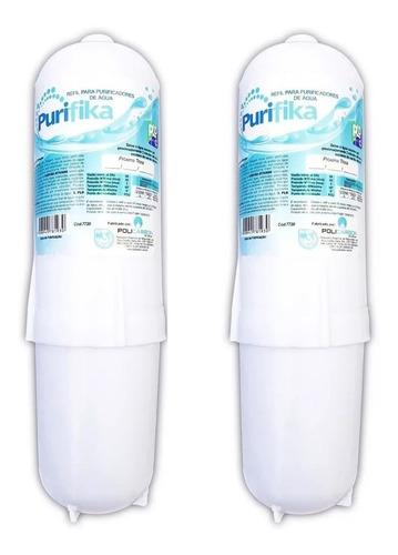 02 refil filtro purificador água soft everest slim fit baby