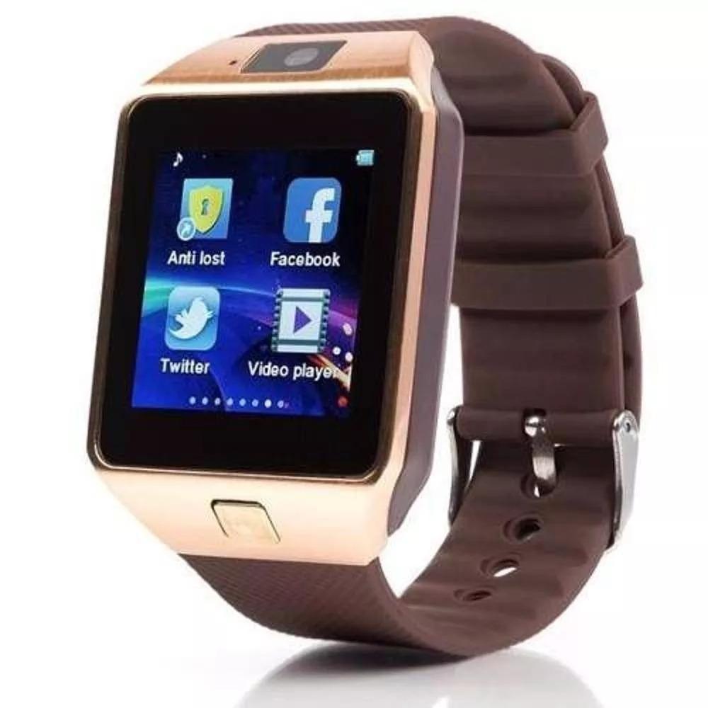 2906285696a 02 relógio bluetooth smartwatch dz 09 android - chip. Carregando zoom.
