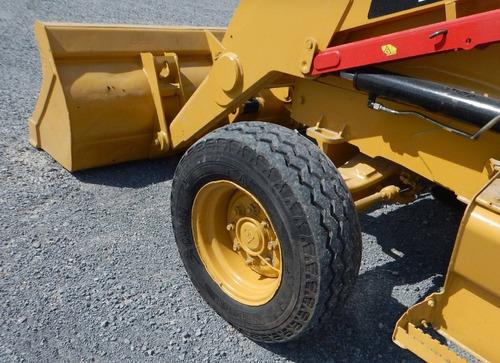 02) retroexcavadora caterpillar 416 e 2008 sencilla