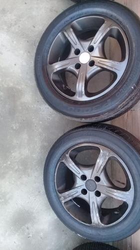 02 roda aro 15 clio 2006 sem pneu
