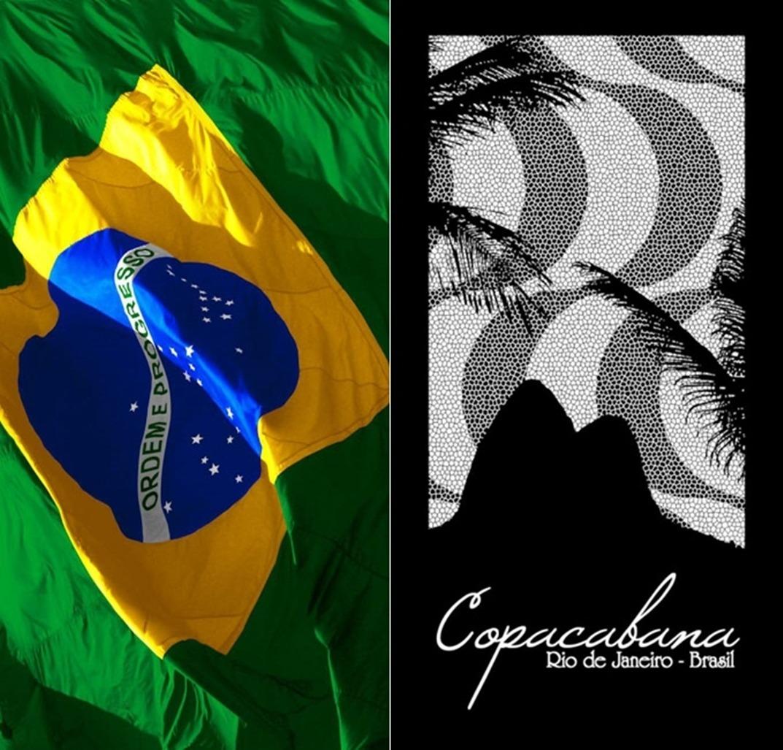 0e36f83f5 02 toalhas banho/praia bandeira brasil aveludadas. buettner. Carregando  zoom.