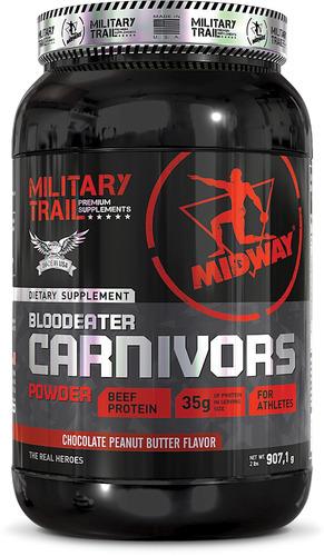 02 unid. carnivors 907g military trail - importado