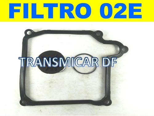02e kit filtro y junta vw a3 eos gti tdi q3 scirroco touran