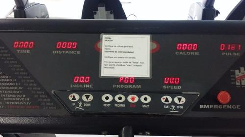 02esteirasprofissional total health  hp300  220v