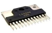03 circuito integrado la4446 peça nova
