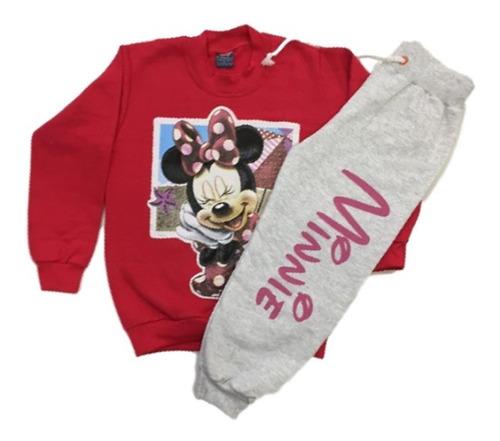 03 conjunto moletom infantil menina inverno roupas atacado