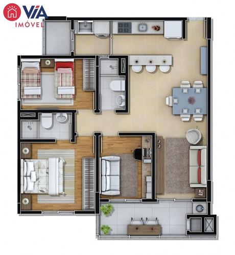03 dormitórios com suíte, bairro são joão, itajaí-sc - 62