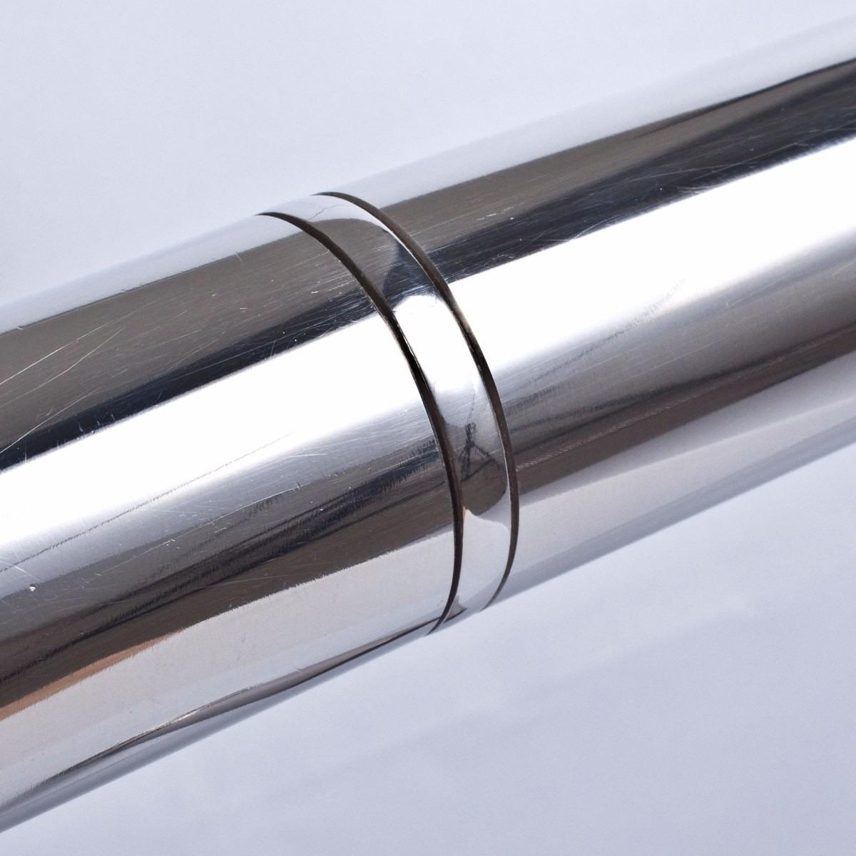 03 metros de corrim o alum nio completos tubo redondo r - Tubo de aluminio redondo ...