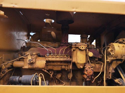 03) motoniveladora caterpillar 14e 1970