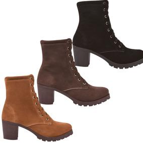 6637d49d69 Sapato Salto Anabela Dakota Mulher Botas De Cano Curto - Sapatos no Mercado  Livre Brasil