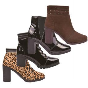 c5cc9d3b45 Sandalia Anabela Marisa Botas De Cano Curto - Sapatos com o Melhores Preços  no Mercado Livre Brasil