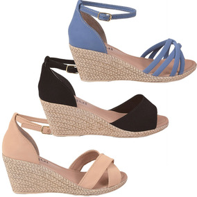 29c35d9979 Sapato Anabela Feminino - Sapatos no Mercado Livre Brasil