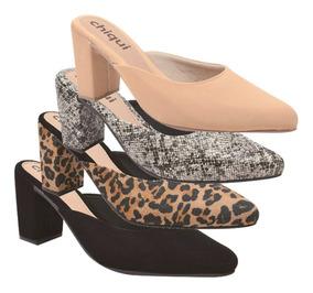 e3817f409 Saltos Femininos - Sapatos com o Melhores Preços no Mercado Livre Brasil
