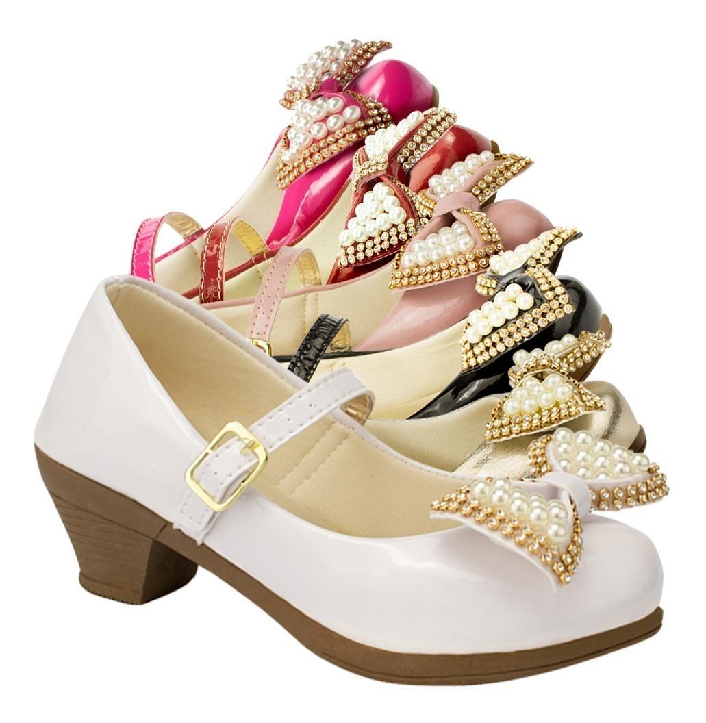 860e0ba7a 03 pares sandalia infantil feminina menina salto moda 13. Carregando zoom.