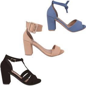 db384ca952 Kits De Sandalias Salto Para Revenda - Sapatos no Mercado Livre Brasil