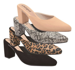 e48c3e5da Sapatos Mule Salto Alto N - Sapatos com o Melhores Preços no Mercado Livre  Brasil