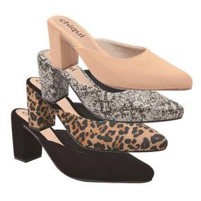 838f07b89b Sandalias Salto Transparente Acrilico Mules - Sapatos no Mercado Livre  Brasil