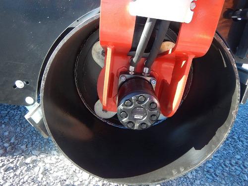 03) rodillo vibratorio doble tambor nuevo 78 cm furd