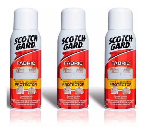 03 scotchgard 3m protector spray impermeabilizante original