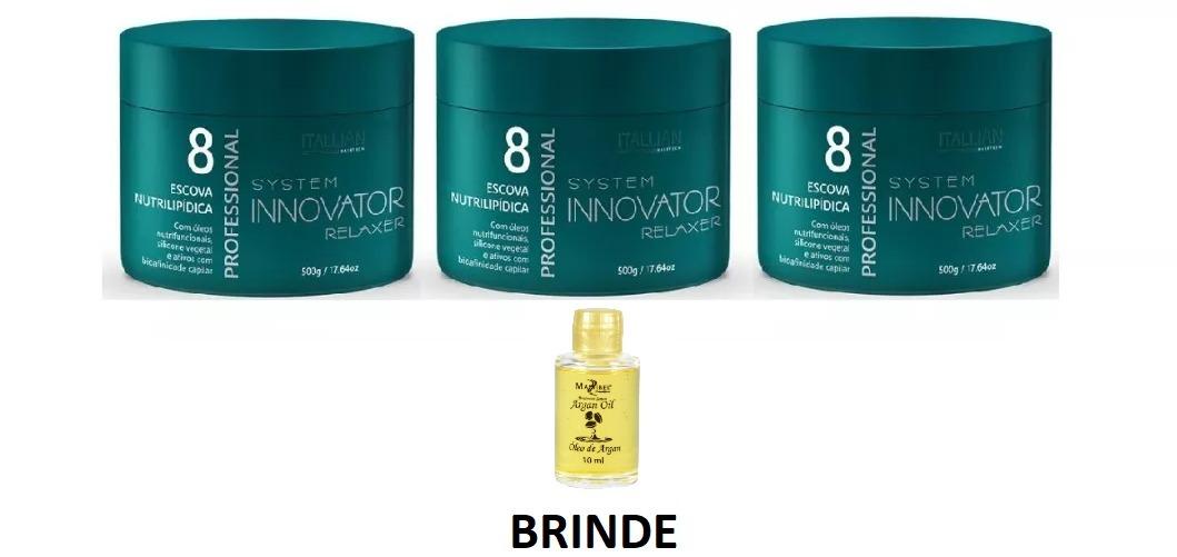 98a118297 03 Und. Escova Nutrilipidica Innovator Itallian Color - R$ 390,00 em ...
