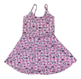 a6c1731dd Roupas Da Moda Jovem Feminina - Vestidos para Meninas Rosa com o Melhores  Preços no Mercado Livre Brasil