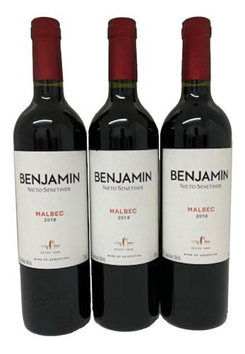 03 vinhos argentinos benjamin nieto malbec 750 ml