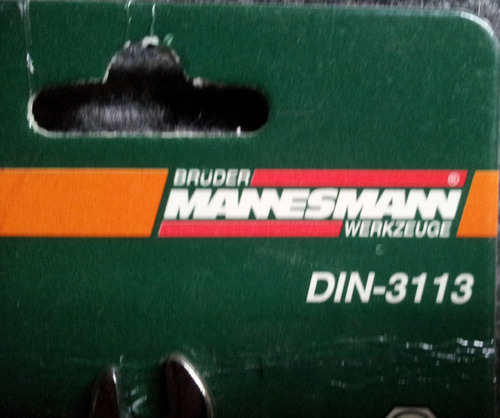 031 llave combinada mannesmann made in germany 6mm
