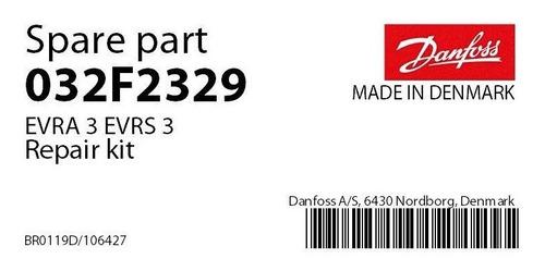 032f2329 reparo vedação evra 3 danfoss
