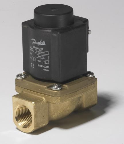 032u380729 válvula solenoide vapor ev225 1  220v danfoss