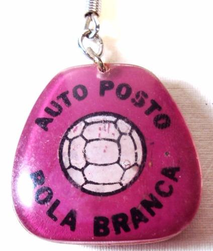 036 chv- antigo chaveiro- auto posto- publicidade- acrílico