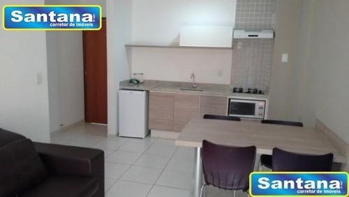 03863 -  apartamento 2 dorms. (1 suíte), turista i - caldas novas/go - 3863