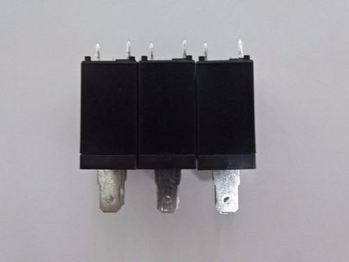 03pç relé hf hongfa jqx-62f 012-1h(555) 16a 20a microondas