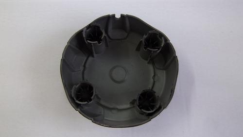 04 calotinhas de roda da saveiro trooper nova cor preta