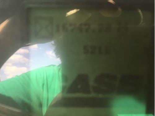 04) cargador frontal / trascavo case 521e 2011