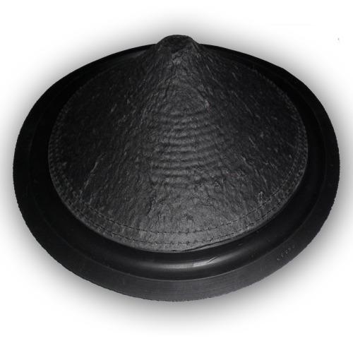 04 cones de 12 polegadas com borda de borracha