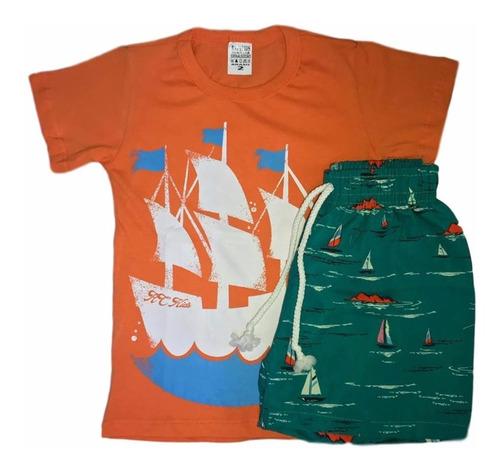 04 conjunto infantil menino masculino luxo roupas atacado tc