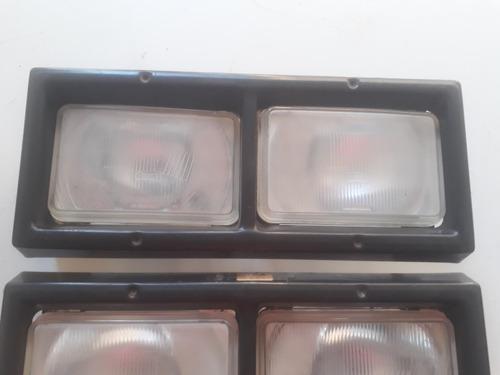 04 farol opala caravan + aro farol kit rodão envemo rossi