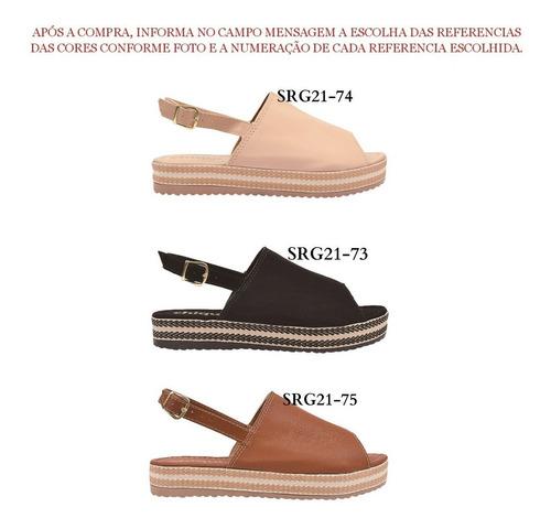 04 pares sandália sapato feminina chiquiteira chiqui/9820
